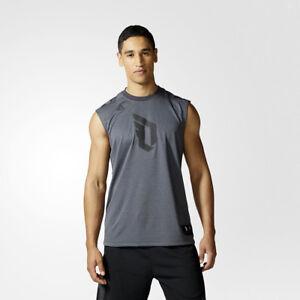8be93d0b Image is loading adidas-Dame-Sleeveless-Tee-NEW-Damian-Lillard-Shirt-