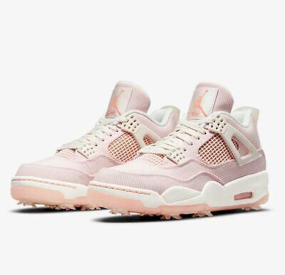Nike Golf Air Jordan 4 IV NRG Sail Apricot Limited Men's Golf Shoes CZ2439-101 | eBay