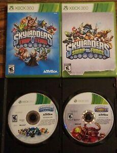 Lot-4-SKYLANDERS-Xbox-360-Games-Trap-Team-Swap-Force-Spyro-039-s-Adventure-Giants
