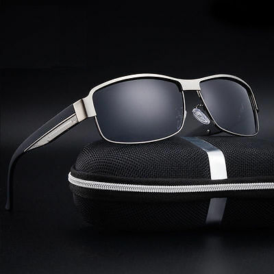 2019 Nuovo Stile Gafas De Sol Polarizadas, Uv 400, Lentes Hd + Estuche De Regalo, #058