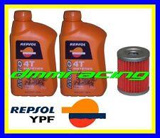 Kit Tagliando SUZUKI BURGMAN 250 AN 99 00 + Filtro Olio REPSOL 10W/40 1999 2000
