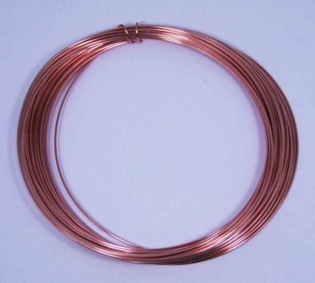 Dead Soft 18 GA Copper Crafters and Jewelry Makers Wire 25 Feet