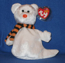 Quivers 6in Ty Beanie Babie 2003 White Halloween Ghost 3up Boys Girls 40018 8bc22dce257e