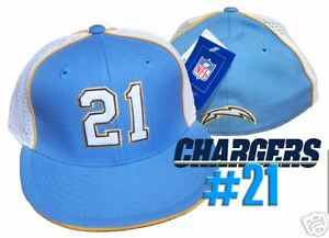Image is loading LaDainian-Tomlinson-Chargers-Hat-Cap-REEBOK-7-3- a5a4908e2bd5
