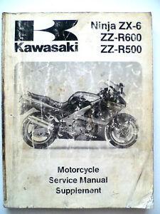 kawasaki ninja zx6 zx 6 zzr600 zzr500 zx500 zx600 1993 service rh ebay ie Kawasaki Engine Parts Taylor Dunn Service Manual