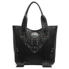 item 4 Western Style Concealed Purse Fringe Totes Handbag Women Shoulder  Bag Wallet Set -Western Style Concealed Purse Fringe Totes Handbag Women  Shoulder ... 261e58e877c70