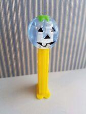 Blue Crystal Pumpkin Genuine Pez Dispenser Test Piece Variation HTF Rare