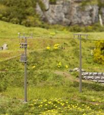 ## Orig Faller 180928 Escala H0 4 Postes de Electricidad # Nuevo en Emb