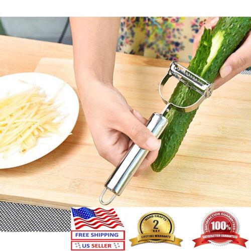 Peeler Premium Ultra Sharp Stainless Steel Dual Julienne /& Vegetab Set of 2