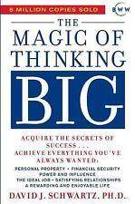 The Magic of Thinking Big by David J. Schwartz (1987, Paperback)