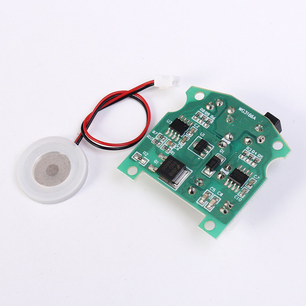 D20mm 113KHz Ultrasonic Mist Maker Atomizing Fogger Ceramic Humidifier 3.7-12V X