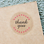 THANK-YOU-STICKERS-Clear-Envelope-Seals-Round-25-38-63mm-Wedding-Favor-labels thumbnail 3