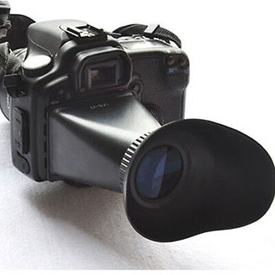 V2 2.8X Magnifier Camera LCD Viewfinder Hood For Canon 550D 5DIII Hoc
