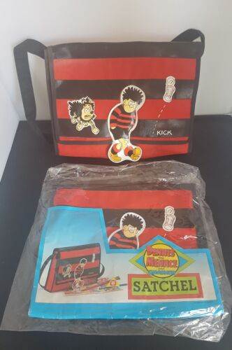 Vintage Dennis the Menace satchel re package rare bag Bags of Character 1988