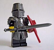 Lego Custom KNIGHT Templar with Custom Armor and Claymore -Castle LOTR