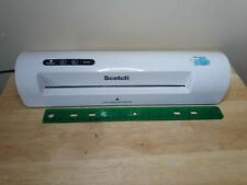 Scotch Thermal Laminator For Up To 9 Width Tl901c Tested And Working 3 Amp 5 Mil