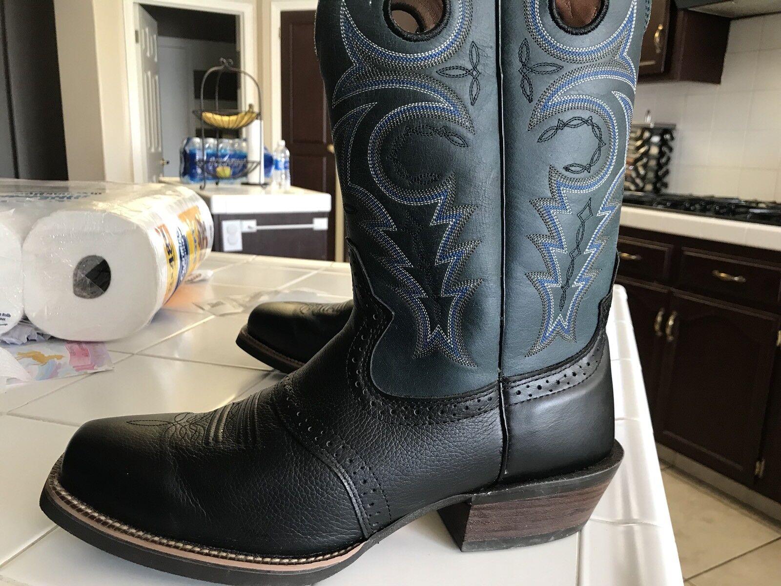 Justin Men's Cowboy Boots Size 11.0/D