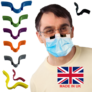 Face Mask Glasses Grip to Reduce Anti Fogging/Steaming Defogger Nose Clip Lot