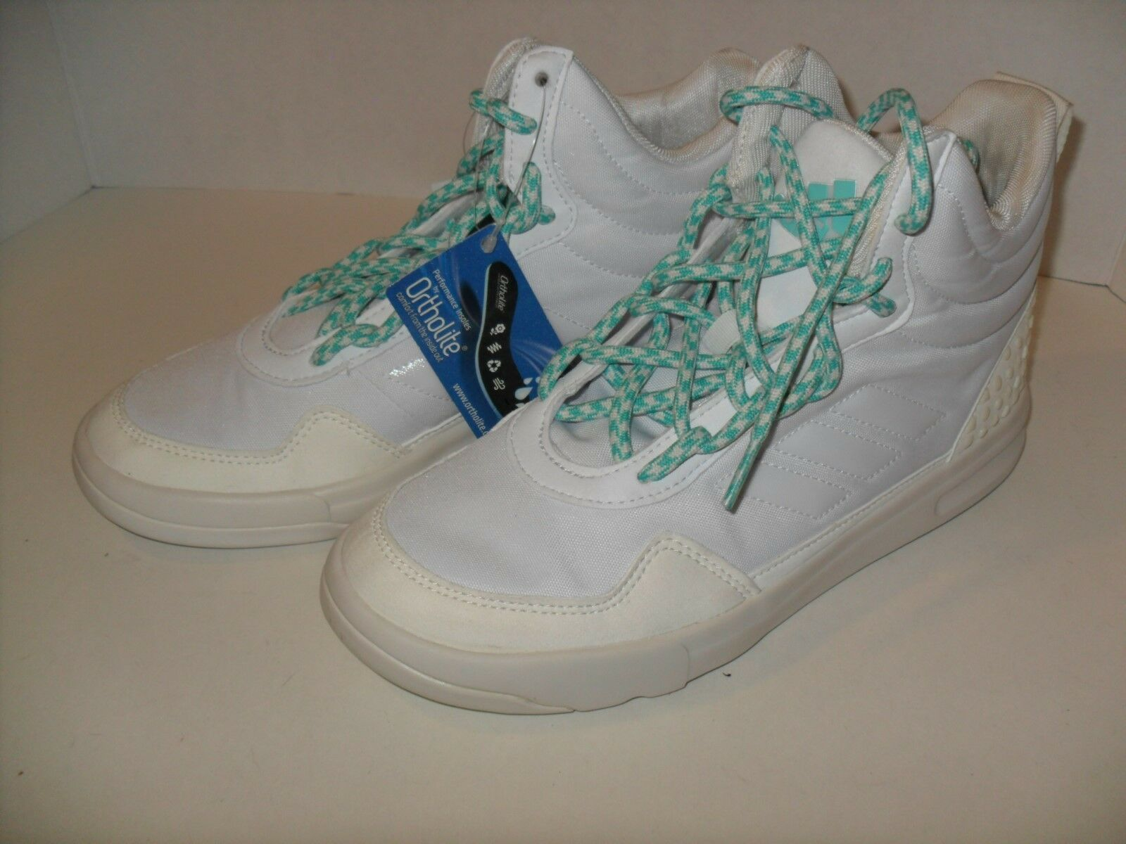 ADIDAS STELLASPORT IRANA Hi-Top SNEAKERS SHOES WHITE   Off-White shoes AQ2654