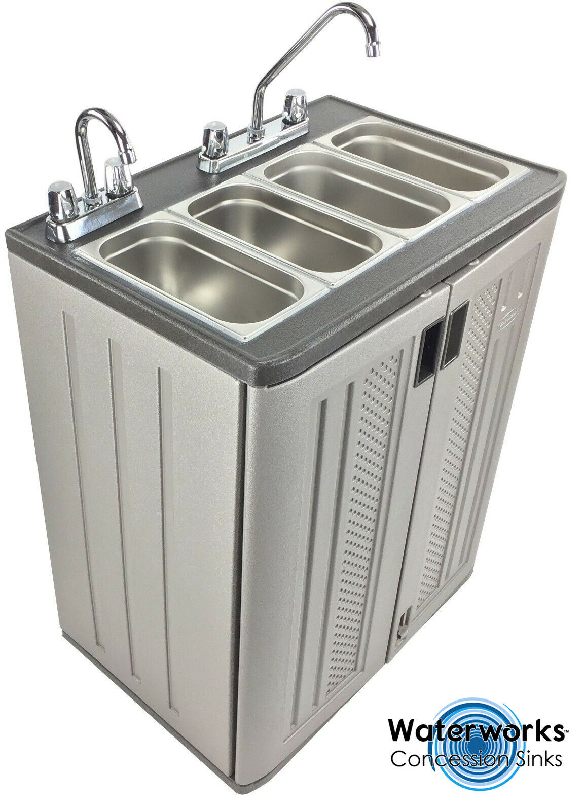 4 Compartment Sink Ready To Install Hot Dog Cart Food Truck Or Trailer For Sale Online Ebay