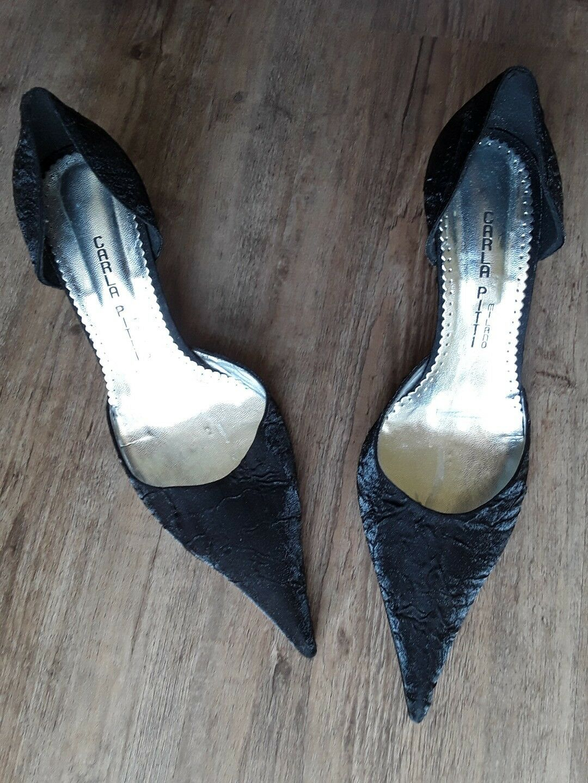 Ital. DAMEN-Schuhe PUMPS,Gr.40,schwarz,absolut GETRAGEN chic, HOCHWERT. NEU, NIE GETRAGEN PUMPS,Gr.40,schwarz,absolut f0d44e