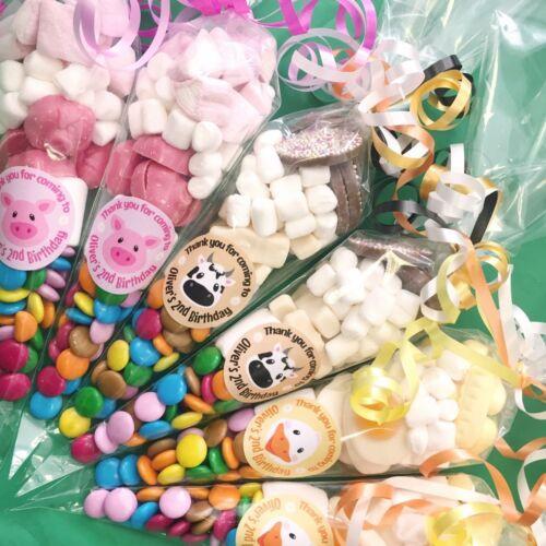 Sweet Cones for Girls and Boys parties,Unicorns,Disco,Magic,Superhero,Football