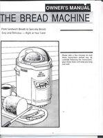 Dak Bread Machine Manual Fab 2000 Ii, Fab 2000 Iv, Fab 3000 V Turbo Baker