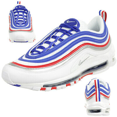 Nike Air Max 97 Baskets Hommes Sport Baskets BlancBleu | eBay