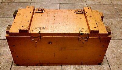 Vintage Military Bomb Detonation Fuse Box, Great Display! 1952! | eBayeBay