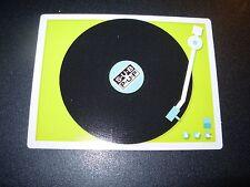 "SUB POP SEATTLE 4"" RECORD PLAYER Sticker Decal pearl jam nirvana"