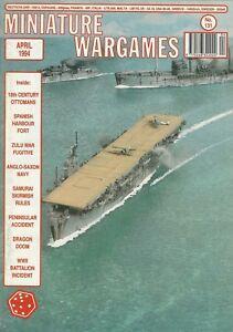 Details about Miniature Wargames Magazine #131 Samurai Skirmish Rules,  Dragon Doom WWII *FS