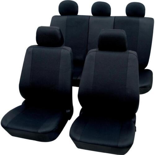 Mazda B2500 Calidad Negro británicos hicieron protectores de cubiertas de asiento de coche-Conjunto Completo