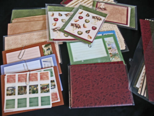 LOT PHOTO MATS JOURNALING BOXES HOLLY DAYS /& HOLLY DAZZLE CREATIVE MEMORIES