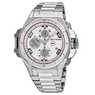 Snyper Men's Iron Clad Chronograph Stainless Steel Automatic Watch 50.000.0M