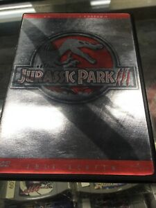 Jurassic-Park-III-DVD-Full-Screen-Collector-039-s-Edition-Free-Shipping-Used