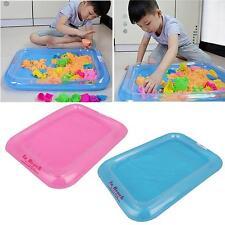 Kinder Baby Indoor Sand Spielen Sandbox Ungiftig PVC Aufblasbare Sandkasten Box