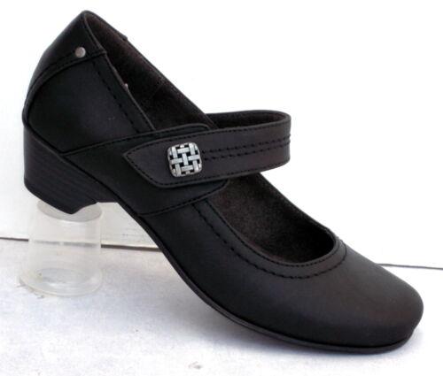 """artículo 8-24361-25 +++ nuevo ++++ Soft Line señora broches de salón amplia /""""h/"""" negro"""