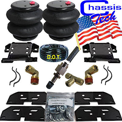 Chassis Tech Bolt On Air Tow Assist Kit 2003-2013 Dodge Ram 2500 3500 overload