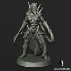 Dark Kin Hembra guerreros X 5 proxy para drukhari Fucales borde Miniatures