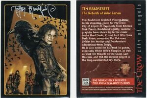 Embossed Legends 10 card subset The Crow City of Angels 1996