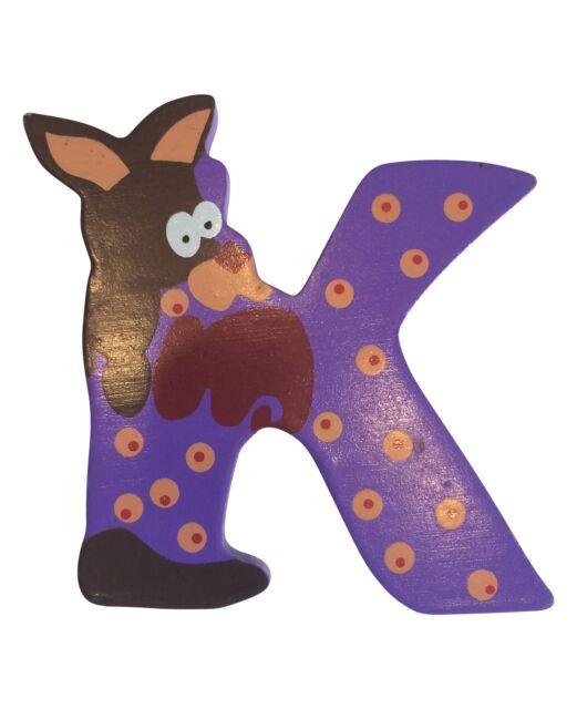 Buchstaben Holzbuchstaben Kinderzimmer Türschild A-Z Tiermotiv von small foot