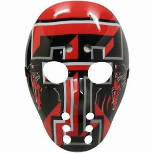 NCAA-Texas-Tech-Red-Raiders-Goalie-Style-Warface-Mask-FREE-SHIPPING