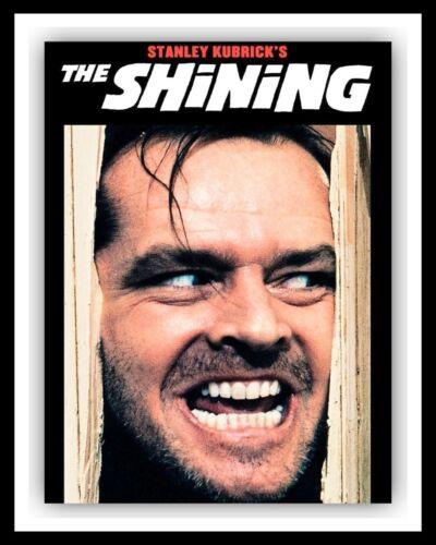 The Shining JACK NICHOLSON cinéma film Métal Film Affiche Plaque glacoide 2875