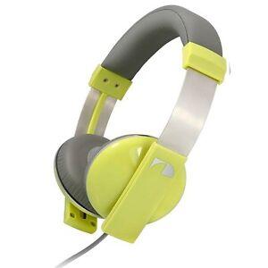 Nakamichi-Amplified-Stereo-Headphones-NK-2000-Yellow