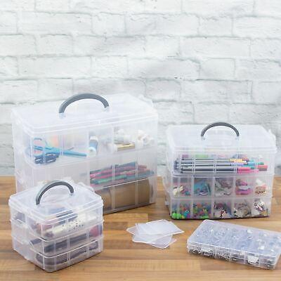 Dihl 3 Tier 30 18 24 Parts Craft Beads, Craft Cases Storage