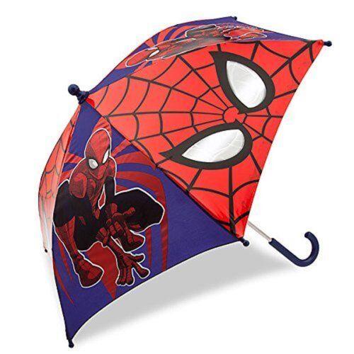 Disney Store Spider Man Kids Umbrella Boys Girls Super Hero Amazing Spiderman