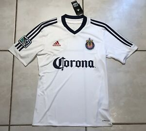 2a8b7679246 NWT ADIDAS Chivas USA MLS 2012 WHITE Training Jersey Men's Small ...