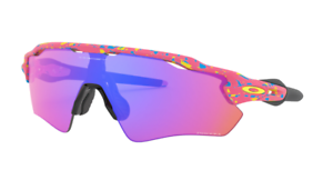 Oakley Radar EV Path Sunglasses OO9275-2235 Splatter Neon Pink W/...
