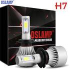 H7 Oslamp LED Headlight Conversion Kit 900W 135000LM Lamp Light Bulbs 6000K