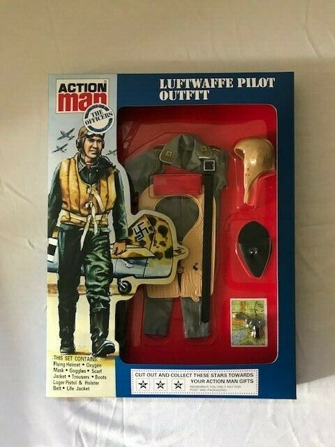 Vintage Action Man 40th Luftwaffe pilot Outfit